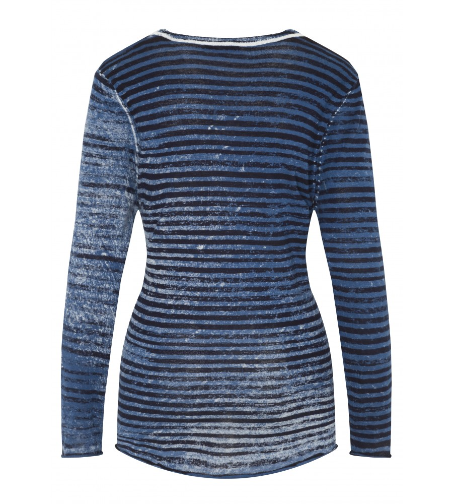Trendiger Pullover mit schönem Farbeffekt 18122-663 back