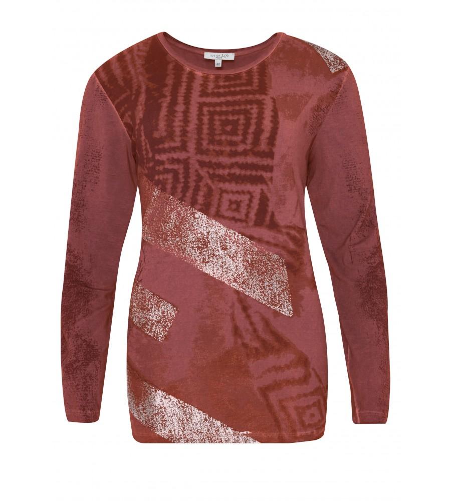 Trendiges Shirt kaltgewaschen 18128-373 front