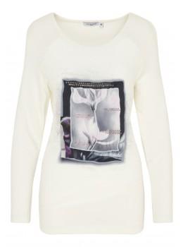 Feminines Shirt mit Exklusivdruck