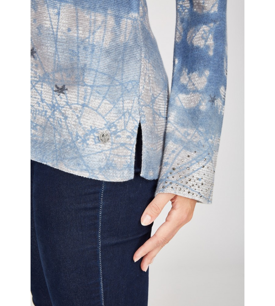 Pullover langarm 18398-663 back
