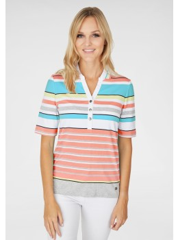 Poloshirt Jersey Baumwolle
