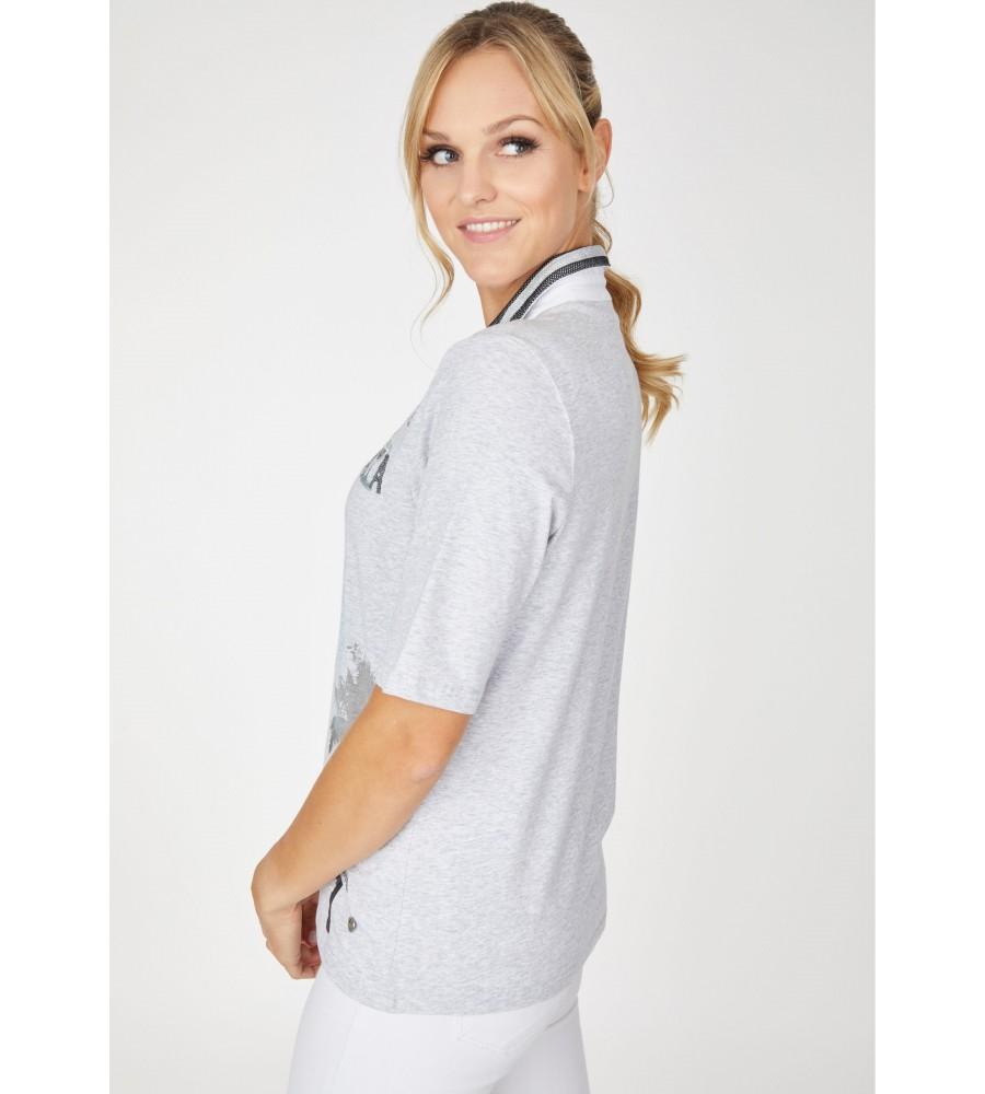 Poloshirt Jersey Baumwolle 18530-106 back
