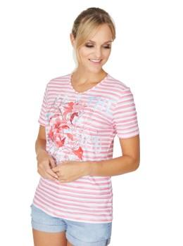 Shirt Jersey Viskose Stretch