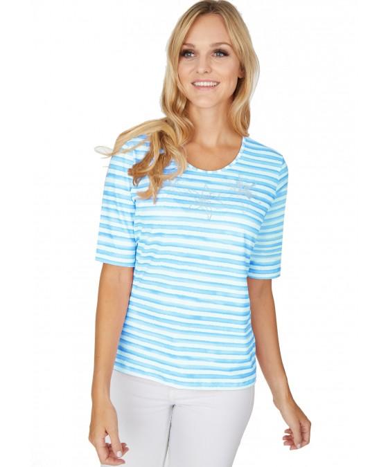 Shirt Jersey Viskose Stretch 18613-605 front
