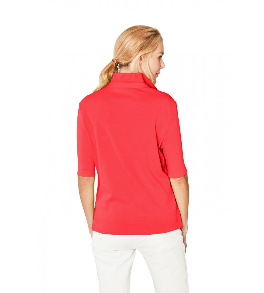 Feminines Poloshirt Feinripp Halbarm 18785-343 back