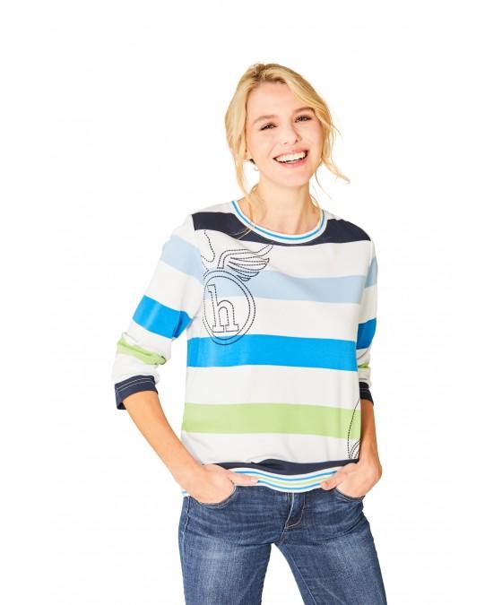 Stay Fresh Sweatshirt Rundhals Dreiviertelarm 18808-631 front