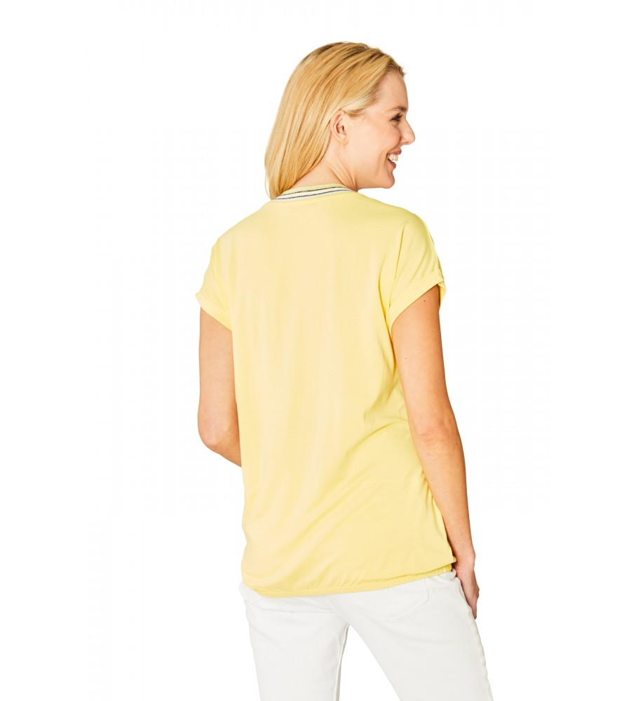 Hochwertiges Shirt Halbarm 18860-407 back