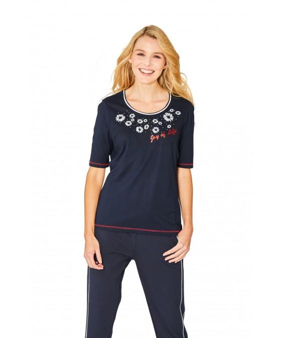 Hochwertiges Shirt Halbarm 18880-609 front