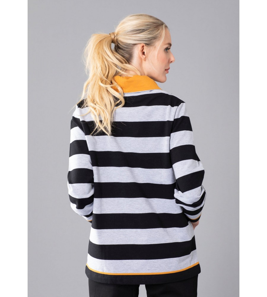 Sweatshirt Ringel 18931-124 back