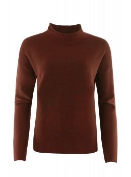 Pullover mit Kelchkragen