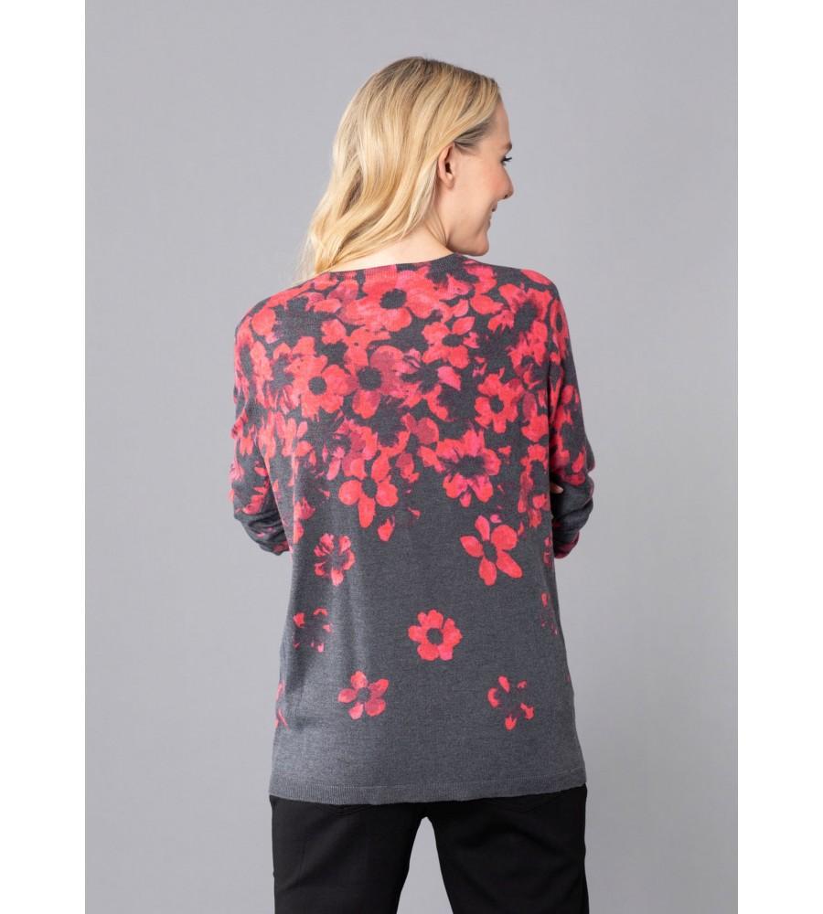 Pullover mit Bordürendruck 18950-119 back
