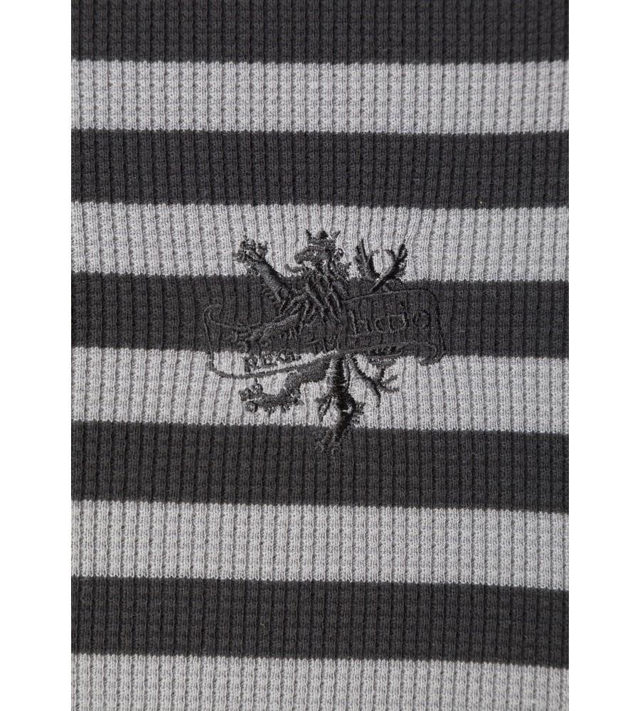 Sweatshirt mit Waffel-Pikee 25939-100 detail1