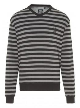 Sweatshirt mit Waffel-Pikee