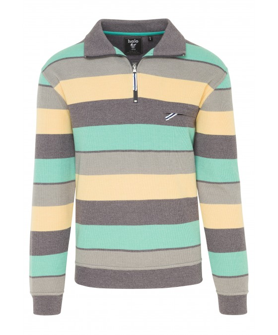 Troyer-Sweatshirt garngefärbt 26081-102 front