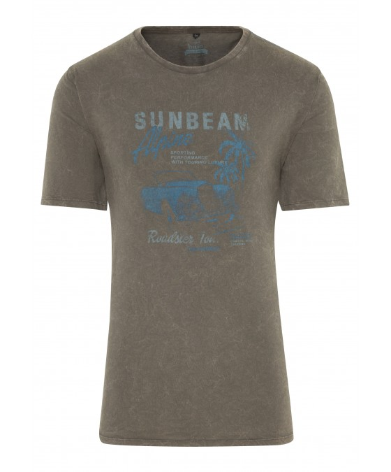 T-shirt stone washed 26149-279 front