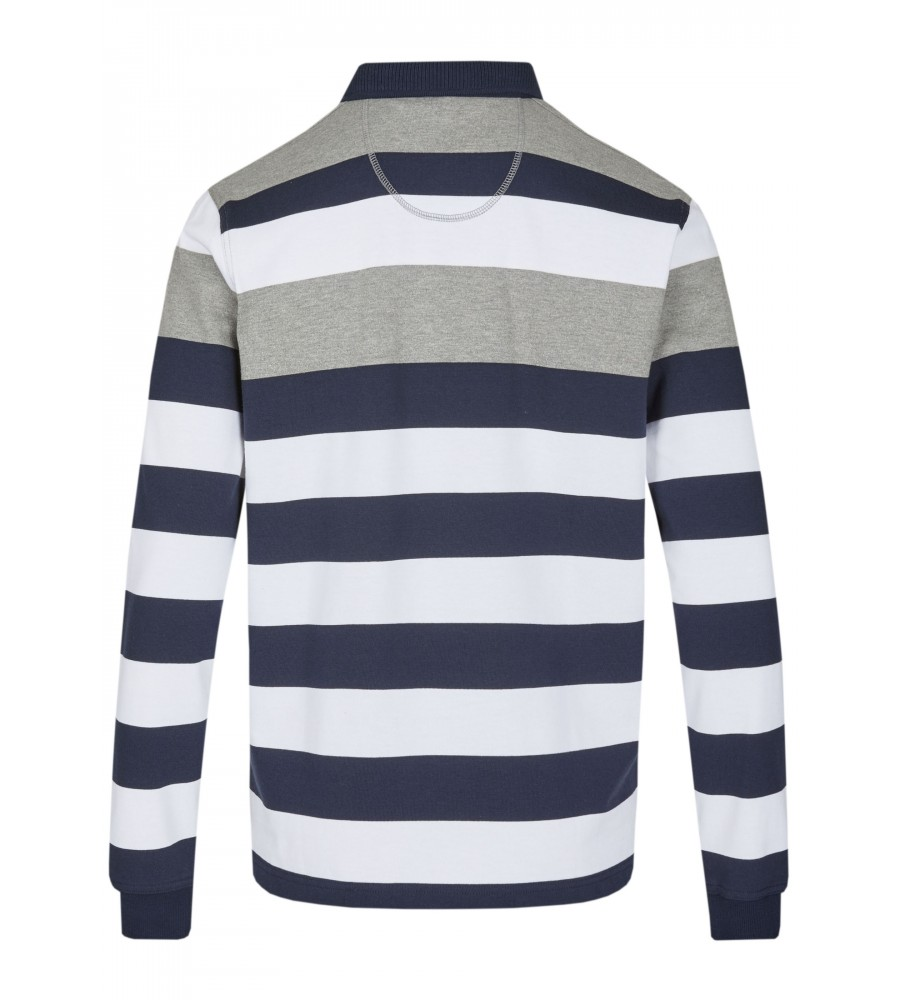 Rugbyshirt mit Polokragen 26612-200 back
