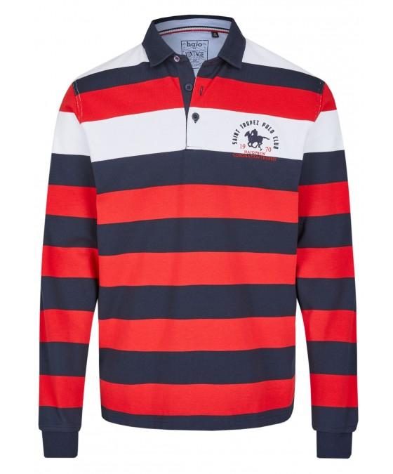 Rugbyshirt mit Polokragen 26612-373 front