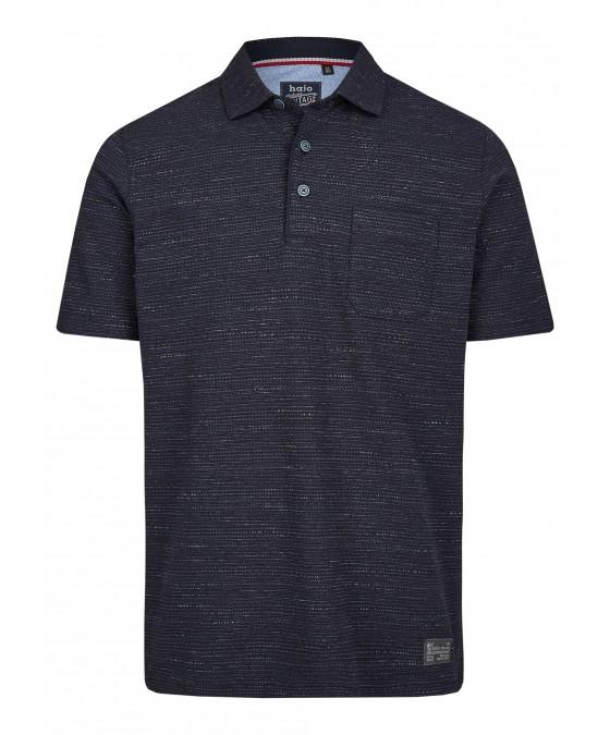 Jacquard-Poloshirt aus Effektgarn 26615-609 front