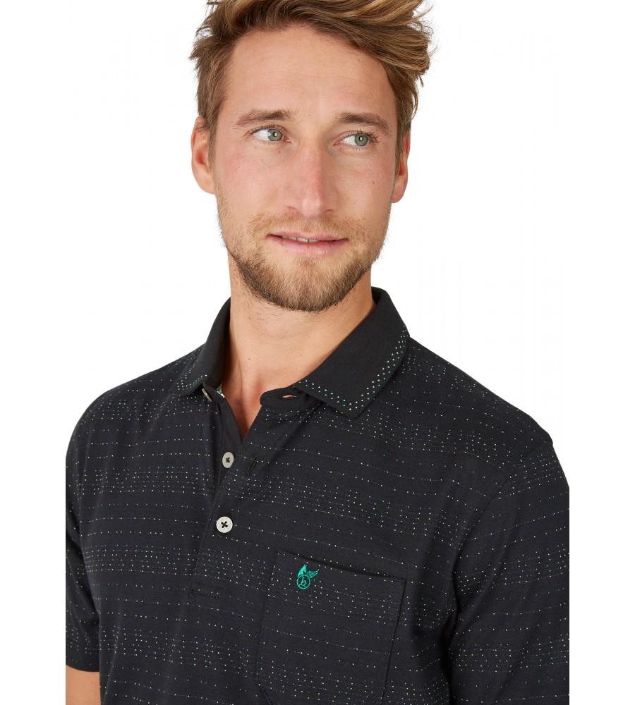 Jacquard-Poloshirt 26622-100 detail1