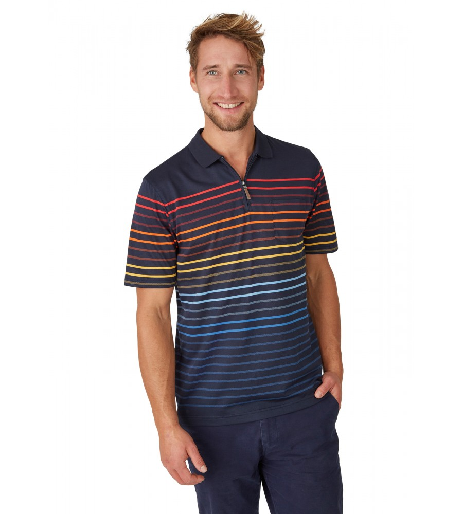 Pikee-Poloshirt mit Systemringel 26627-609 front