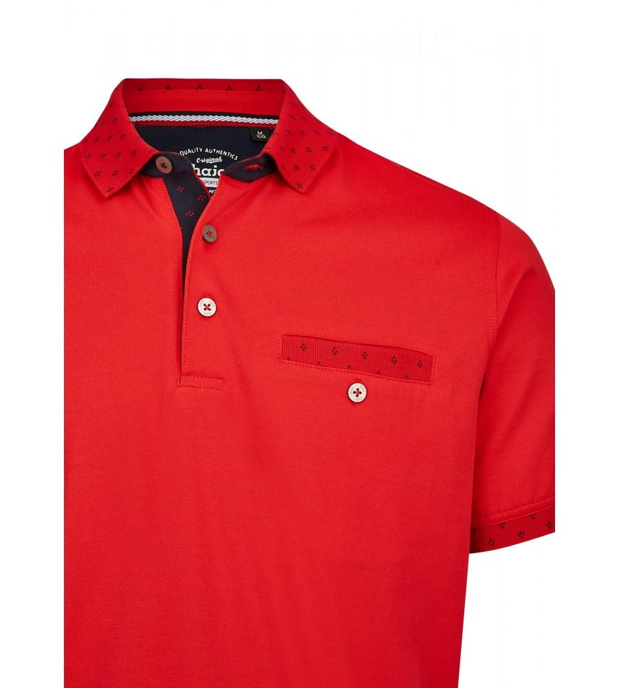 Poloshirt mit dezenten Details 26634-373 detail1