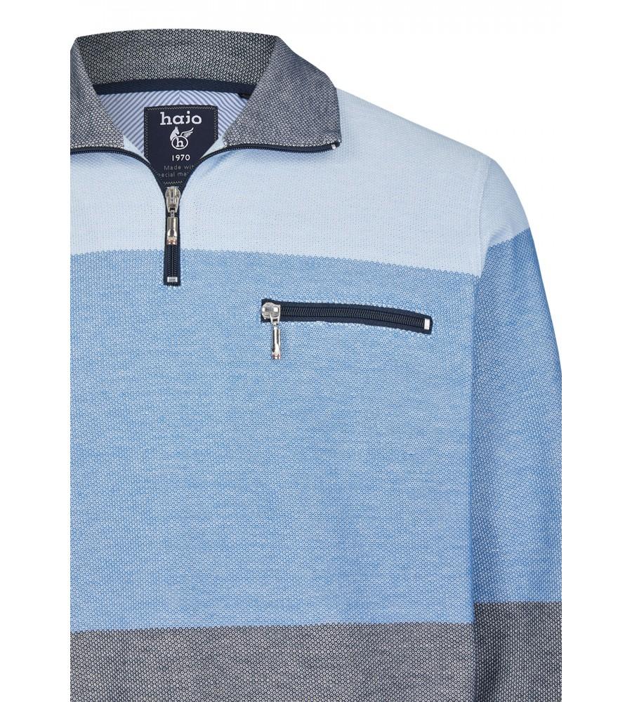 Sweatshirt mit Troyerkragen 26665-621 detail1