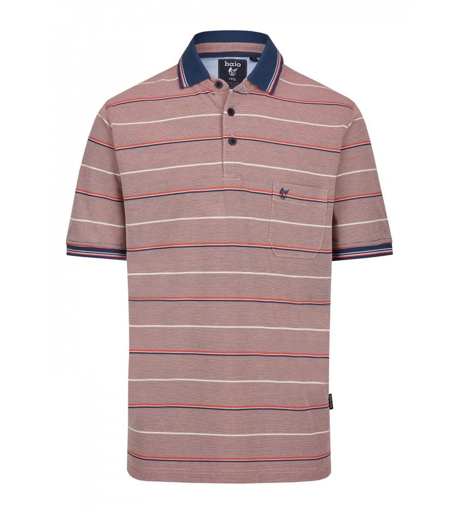 Pikee-Poloshirt in toller Zweitonoptik 26672-320 front