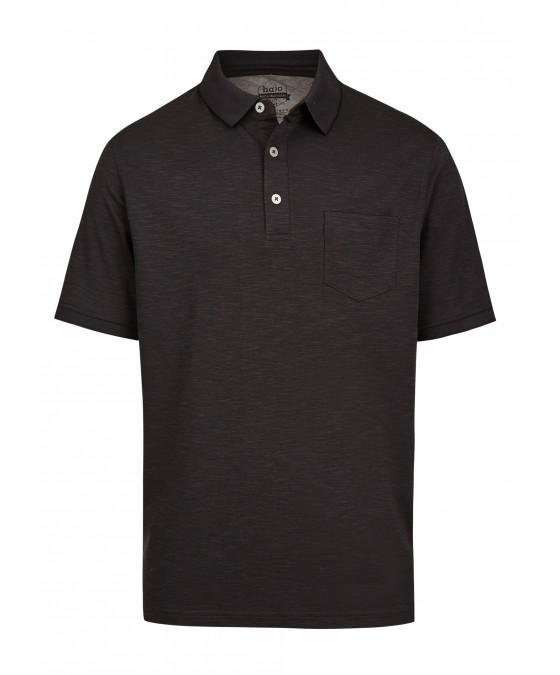Softknit-Poloshirt mit tollem Farbeffekt 26678-100 front