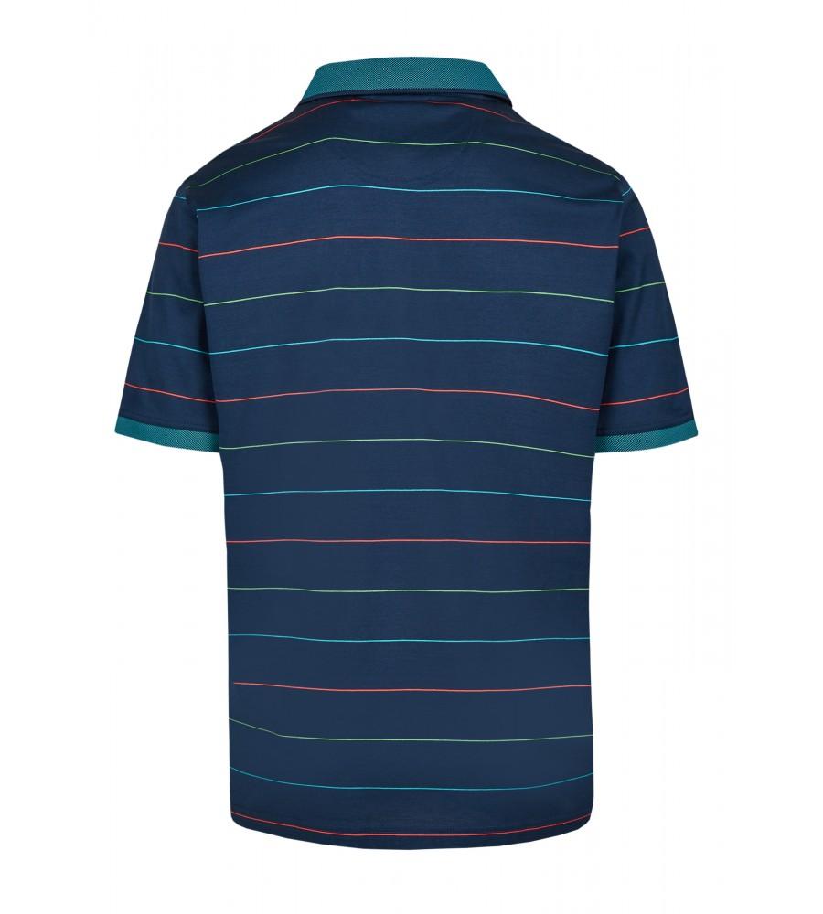 Poloshirt mit dezentem Glanz 26685-638 back