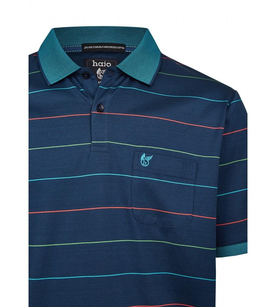 Poloshirt mit dezentem Glanz 26685-638 detail1