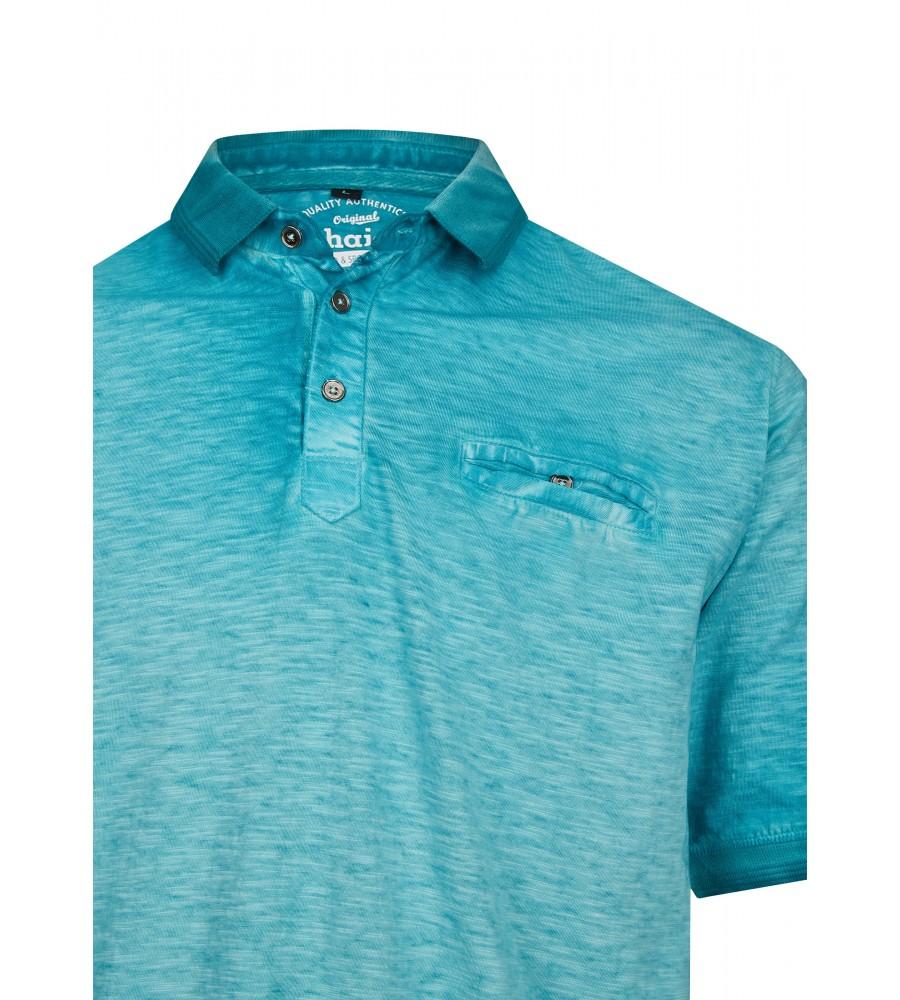 Washer-Poloshirt aus Flammengarn 26699-606 detail1
