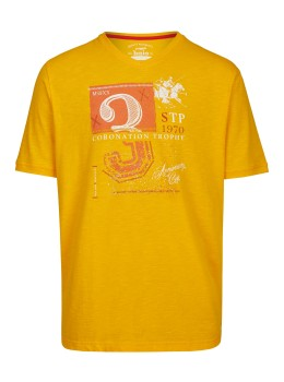 T-Shirt aus Slubgarn
