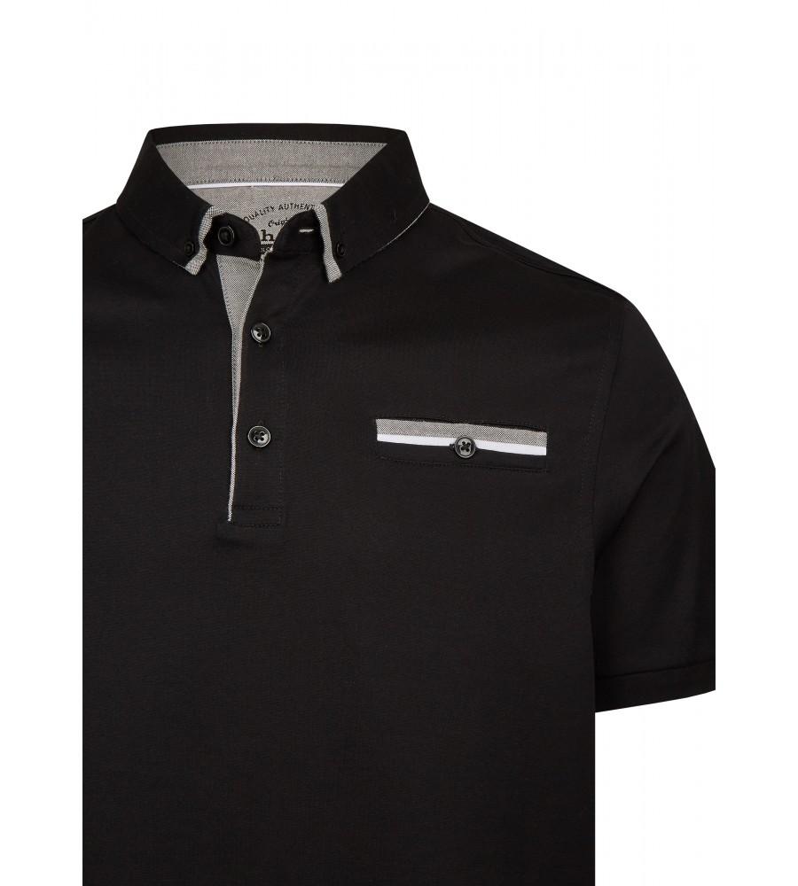 Poloshirt mit schlichten Farbakzenten 26735-100 detail1