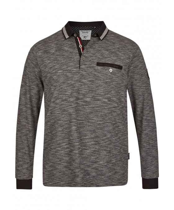 Jacquard-Poloshirt 26745-100 front