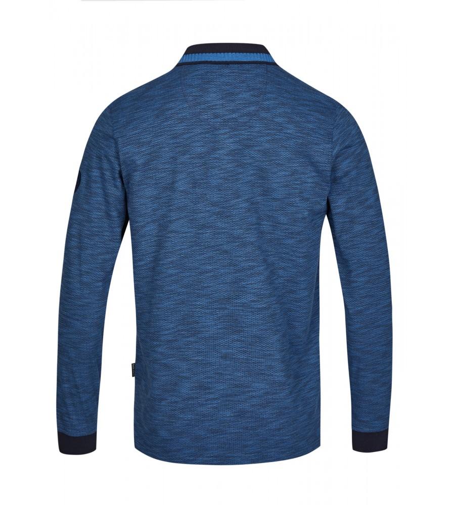 Jacquard-Poloshirt 26745-609 back