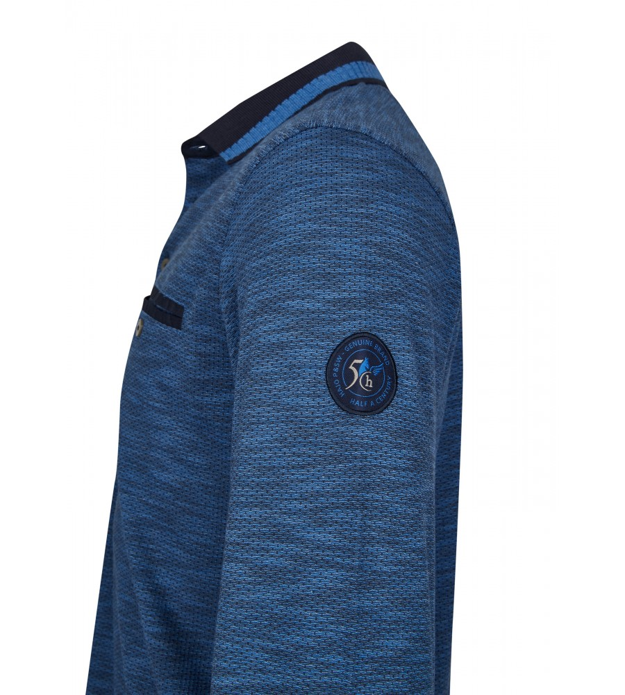 Jacquard-Poloshirt 26745-609 detail1