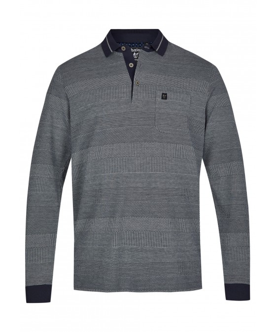 Jacquard-Poloshirt 26746-609 front