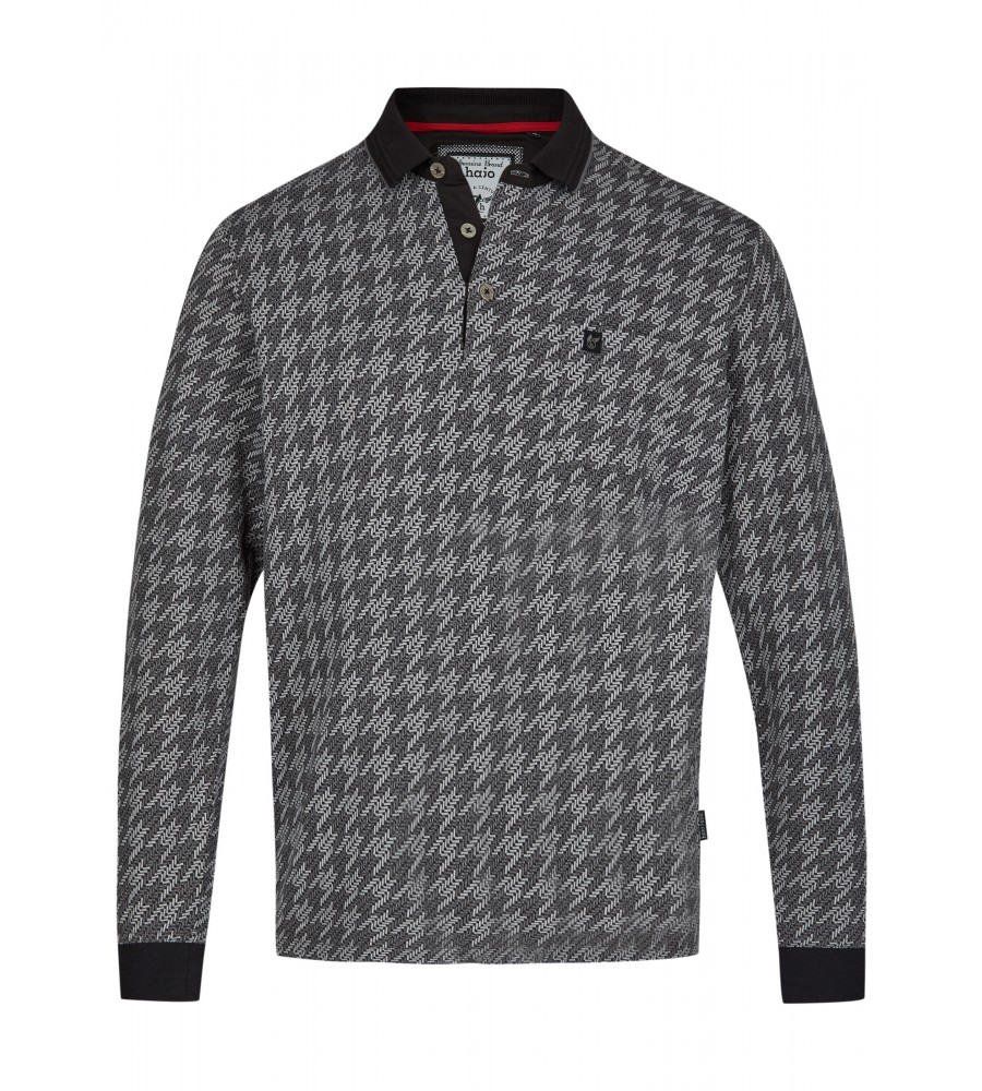 Jacquard-Poloshirt 26748-100 front