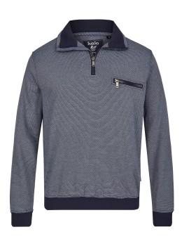 Sweatshirt in Dreitonoptik