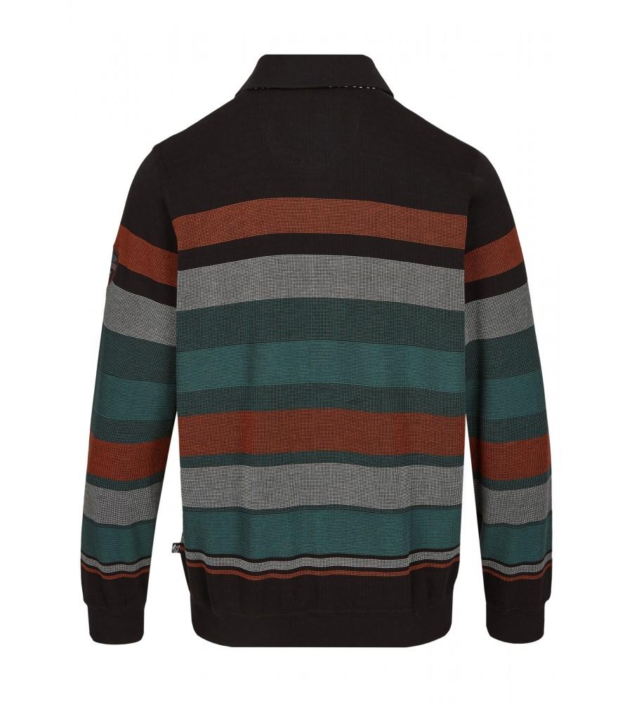 Klassisches Polosweatshirt 26799-100 back