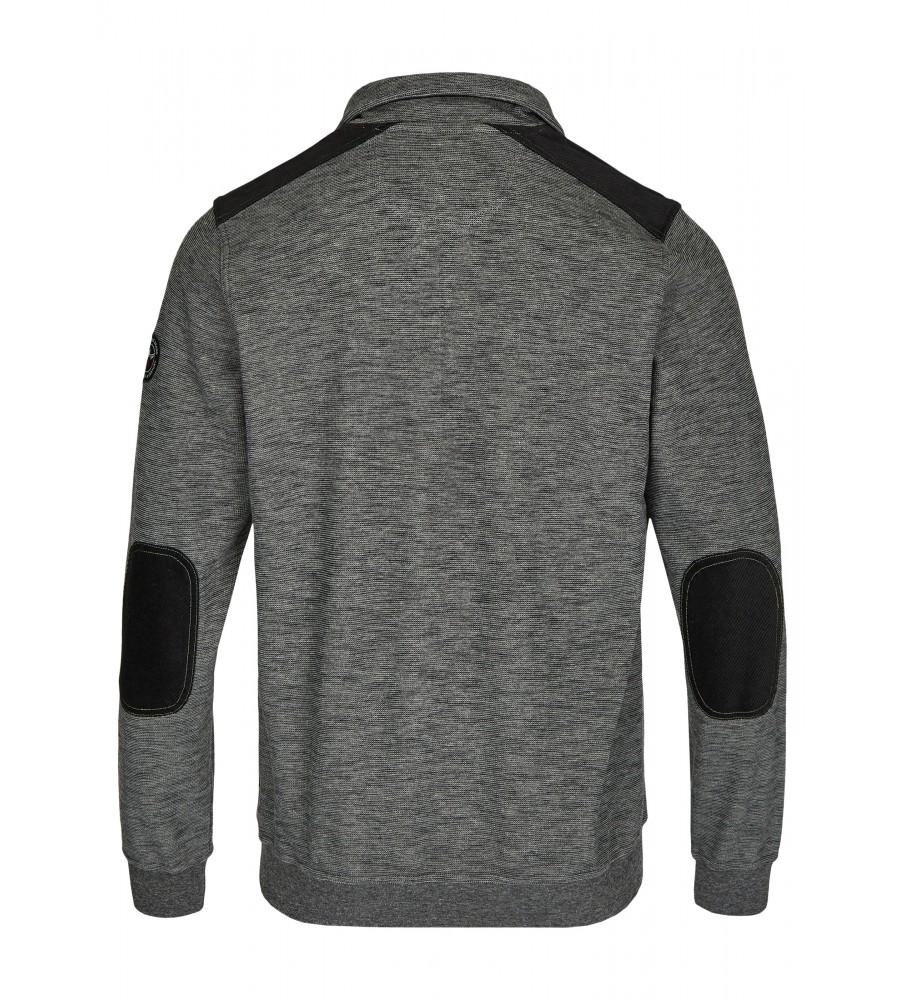 Sweatshirt in Slub-Melange 26807-100 back