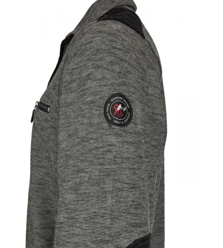 Sweatshirt in Slub-Melange 26807-100 detail1