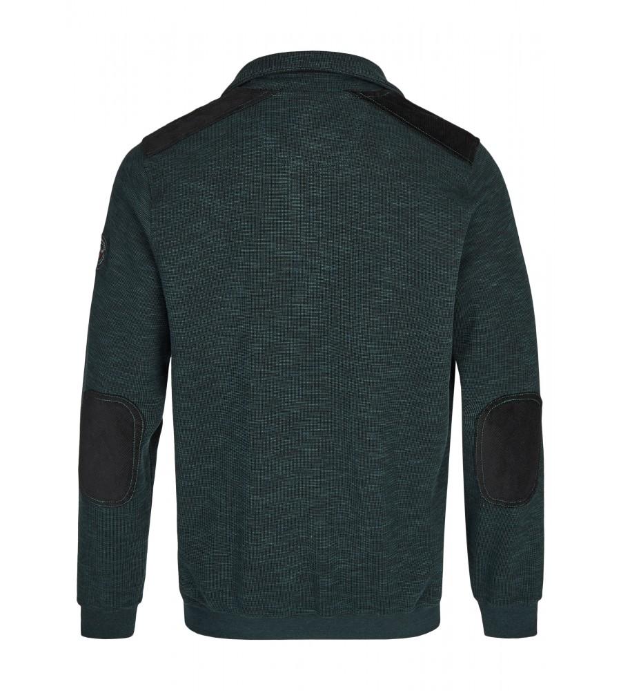 Sweatshirt in Slub-Melange 26807-515 back