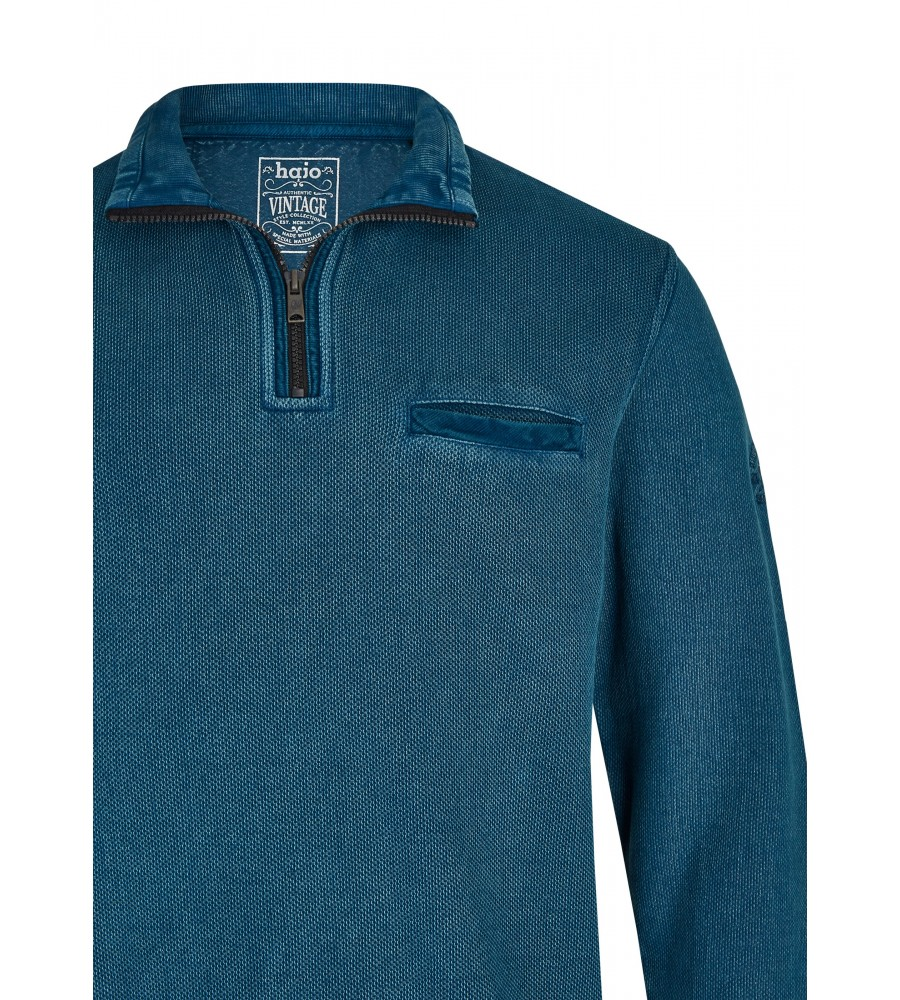 Gewaschenes Troyersweatshirt 26823-602 detail1