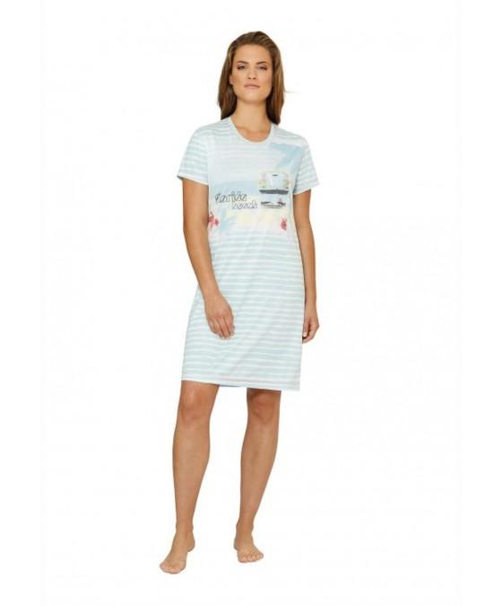 Bedrucktes Sleepshirt 45014-605 front