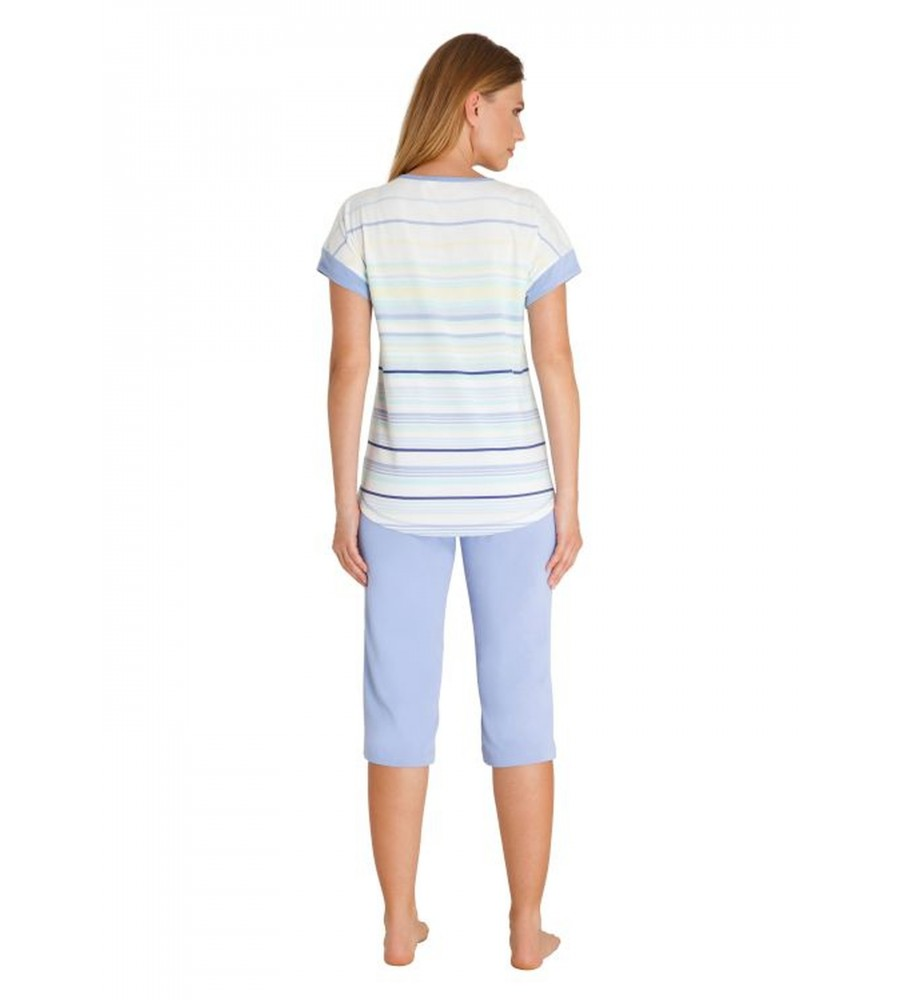 Capri Schlafanzug Klima-Komfort 45214-602 back