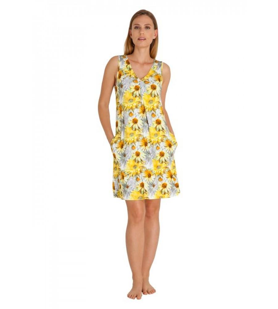 Freundliches Strandkleid mit Blumendruck 80925-400 front