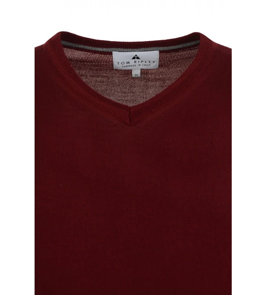 Pullover mit V-Ausschnitt T1005-359 detail1